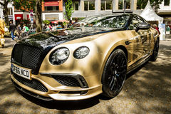 Personal luxury car Bentley Continental Supersports, 2017. Royalty Free Stock Image