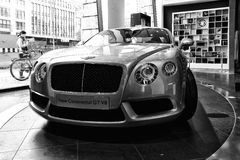 Personal luxury car Bentley New Continental GT V8 Royalty Free Stock Photos