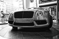 Personal luxury car Bentley New Continental GT V8 Royalty Free Stock Images
