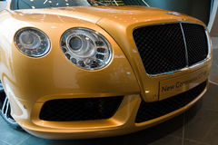 Personal luxury car Bentley New Continental GT V8. Stock Photos