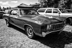 Personal luxury car Chevrolet Monte Carlo Royalty Free Stock Images