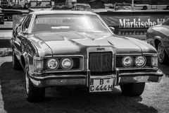 Personal luxury car Mercury Cougar XR-7 Royalty Free Stock Photos