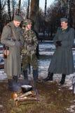 Personal militar alemán. Imagen de archivo