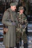 Personal militar alemán. Foto de archivo