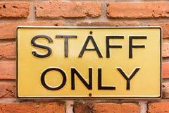 Personal nur auf Kfz-Kennzeichen Stockbilder