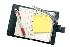 Personal Organizer royalty free stock photography
