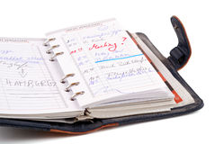 Personal organizer Stock Images
