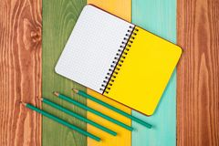 Personal organizer with copy-space Stock Photos