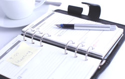 Personal organizer Stock Image