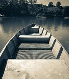 Personal perspective of a boat Stock Photo