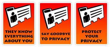 Personal privacy Royalty Free Stock Photo