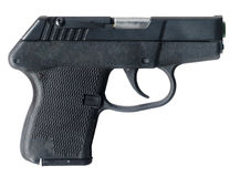 Personal protection. Easily concealed weapon affords personal protection Stock Photos