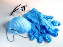 Free Personal Protection Equipment For Healthcare Stock Photo - 176310800