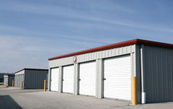 Personal Rental Storage Units Stock Image