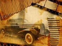 Personal retro Imagenes de archivo