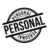 Personal rubber stamp Royalty Free Stock Images