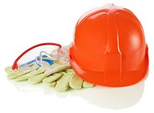 Personal safety equipment Royalty Free Stock Photography