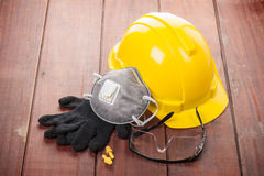 Personal safety equipment Royalty Free Stock Image