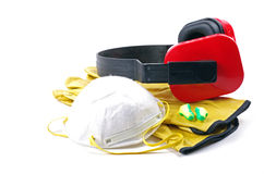 Personal safety gear Royalty Free Stock Image