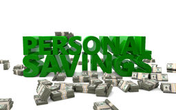Personal Savings Royalty Free Stock Images