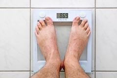 Personal scales Royalty Free Stock Photo