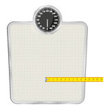 Personal scales Stock Photo