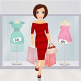 Personal shopper Royalty Free Stock Image