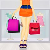 Personal shopper Royalty Free Stock Photography