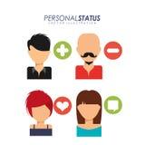 Personal status Stock Photo