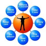 Personal success Stock Photo