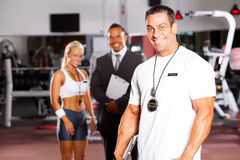 Personal trainer Stock Image