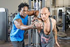 Free Personal Trainer Royalty Free Stock Photo - 34097245