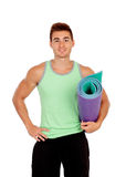 Personal trainer of fitness Royalty Free Stock Images