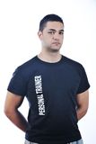 Personal trainer man Royalty Free Stock Image