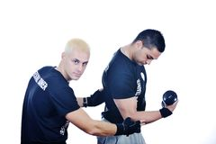 Personal trainer man Royalty Free Stock Images