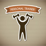 Personal trainer Stock Images