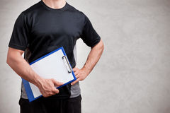 Personal Trainer Stock Photography