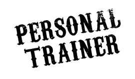 Personal Trainer rubber stamp Royalty Free Stock Image