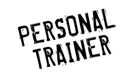 Personal Trainer rubber stamp Stock Photography