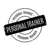 Personal Trainer rubber stamp Royalty Free Stock Images