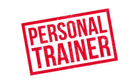 Personal Trainer rubber stamp Stock Image