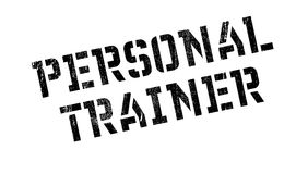 Personal Trainer rubber stamp Stock Photo
