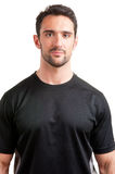 Personal Trainer. Smiling, isolated in white Royalty Free Stock Image