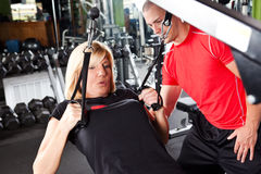 Personal training Royalty Free Stock Photos