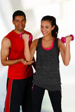 Personal Training Royalty Free Stock Images
