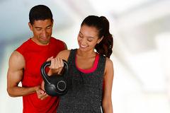 Personal Training Stock Image