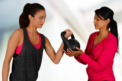 Personal Training Royalty Free Stock Photo