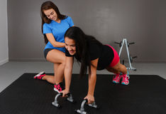 Personal Training Royalty Free Stock Image