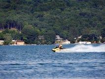 Free Personal Watercraft Fun On Cayuga Lake During Summertime Royalty Free Stock Image - 203376136