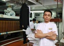 Personale della lavanderia Fotografie Stock
